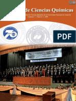 VOL 7 NUM 2 AÑO 2009 - REVISTA FAC CIENCIAS QUIMICAS - PARAGUAY - PORTALGUARANI