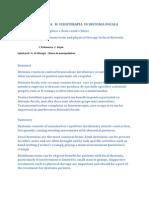 Tratamentul Cu Toxina Botulinica in Distonia Focala