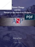 Climate Change and the Threats to the American Midwest