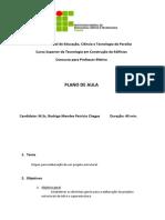 Plano de Aula IFPB