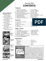Homebrewer Newsletter Issue #1