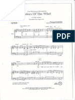 Pocahontas - Colors of the Wind SATB PVC 10