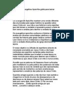 Os Evangelhos Apócrifos grátis para baixar.pdf