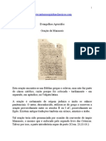 Evangelhos Apócrifos - Oração de Manassés.doc