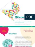 Federal Employee Viewpoint Survey - Millennials