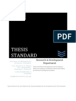 Thesis Standard by RnDD (IMSciences)