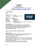 UT Dallas Syllabus for aim6343.0g1.09u taught by Indranil Bardhan (bardhan)