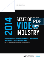 2014 State of the Video Industry
