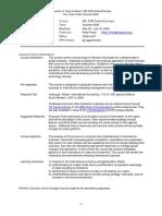 UT Dallas Syllabus for ims5200.0g1.09u taught by   (pxp082100)