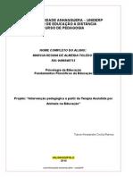 TAA na Educacao MARCIA R A TOLEDO RA 9499546713.doc