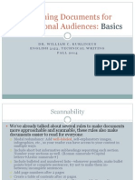 Writing for International Audiences