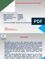 The Global Submarine Market 2013-2023