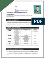 Bhashkar Resume
