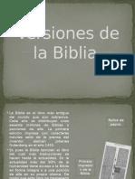 Versiones de la Biblia.....pptx
