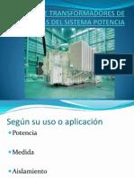 TIPOS DE TRANSFORMADORES DE POTENCIAS DEL SISTEMA POTENCIA.pptx