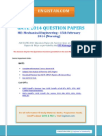 GATE 2014 QUESTION PAPERS