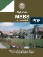 Mbbs Syllabusat the Aiims