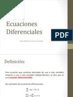 Clase 1, ecuaciones diferenciales