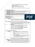 UT Dallas Syllabus for crwt2301.001.09s taught by Lauren Dixon (lcd062000)