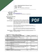 UT Dallas Syllabus for ed4344.501.09s taught by Ingrid Huisman (ibh013000)
