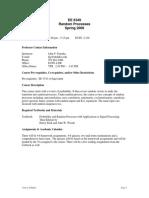 UT Dallas Syllabus for ee6349.001.09s taught by John Fonseka (kjp)