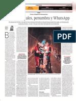 El Comercio Perú 18 de Junio 2014 - Hierro, metales, penumbra y WhatsApp.pdf