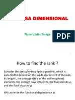 Tambahan Analisa Dimensional1