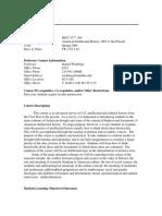 UT Dallas Syllabus for hist3377.001.09s taught by Daniel Wickberg (wickberg)