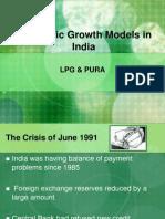 Economic Development Strategies - LPG and PURA Model