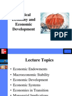 IBG - Political Economy and Economic Development s2 2014
