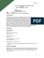 UT Dallas Syllabus for lit2331.001.09s taught by Maureen Codd (mrc041000)