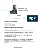 UT Dallas Syllabus for nats3330.001.09s taught by Homer Montgomery (mont)