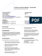 UT Dallas Syllabus for nsc4353.002.09s taught by Christa Rodriguez (cmr067000)
