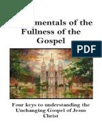 Fundamentals of the Fullness of the Gospel