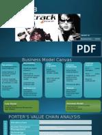 BMC, porters model & KPIs for customer acquisition for Fastrack