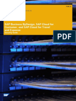 SAP Cloud for customer Security Guide