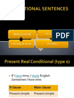 Conditional Sentences Linguistic Morphology Onomastics
