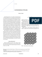Introduction to Porosity