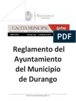 Reglamento del Ayuntamiento de Durango 2014.pdf
