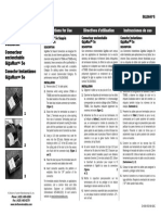 Instruction Sheet 5G108-RW5