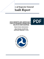 FAA ADS-B Program Audit Report
