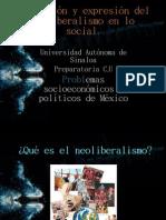 Neoliberalismo en Lo Social