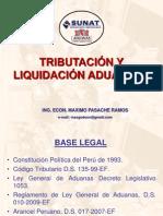 TRIBUTACION Y LIQUIDACION ADUANERA - MAX.ppt
