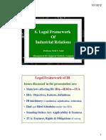 6. Rd Legal Framework of IR