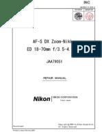 Manual Nikor 18-70