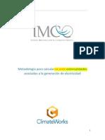 05 Metodología Para Calcular Ex Ante Externalidades Asociadas a La Generación de Electricidad IMCO