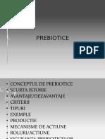 Prebiotice