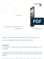 User Manual Alcatel One Touch Idol 6030, 6030D