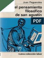 Pegueroles Juan - El Pensamiento Filosofico De San Agustin.pdf