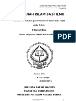 Maklah islamisasi ilmu